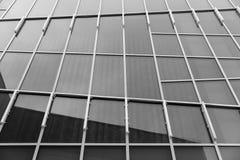 上升的透视图摩天大楼单块玻璃 库存图片