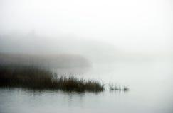 上升的雾 免版税库存图片