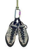 上升的鞋子 免版税库存图片