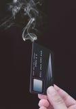 信用卡债务 图库摄影