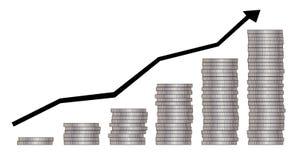上升  免版税库存图片