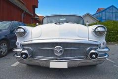上午汽车会议halden (buick特殊1956) 免版税库存图片