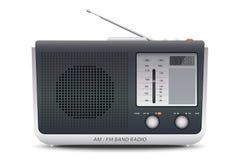 上午FM带收音机 库存图片