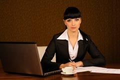 上司女性 免版税库存照片