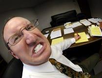 上司平均办公室 免版税库存图片