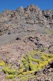 从登上图卜卡勒峰(4,167米)的看法 免版税库存照片