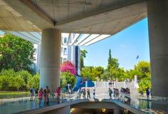 上城博物馆在雅典,希腊 库存照片