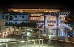 上城博物馆,雅典,希腊 免版税库存图片