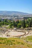 上城在希腊,雅典 免版税库存图片