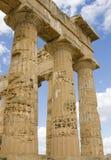 上城西西里岛 免版税库存图片