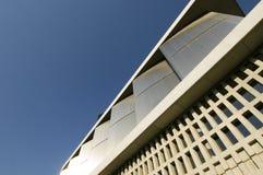 上城雅典博物馆侧视图 免版税库存图片