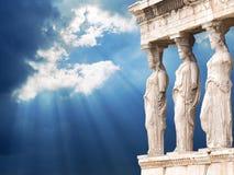 上城雅典 免版税图库摄影