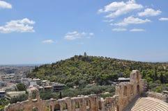 上城,雅典希腊 免版税库存图片