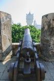 登上堡垒在澳门 库存图片