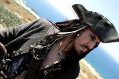 上尉海盗 库存照片