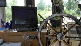 上尉` s客舱 海洋舵 股票视频