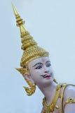上帝和邪魔泰国的素万那普机场 免版税库存图片