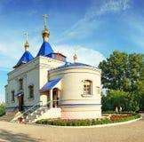 上帝大教堂,东正教的喀山母亲 库存照片