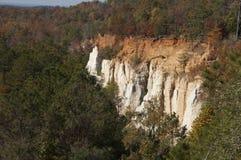 上帝峡谷,乔治亚-乔治亚` s一点大峡谷 免版税库存图片