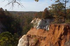 上帝峡谷,乔治亚-乔治亚` s一点大峡谷 免版税库存照片