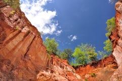 上帝峡谷 库存照片