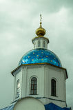上帝的喀山母亲教会在市卡卢加州地区的Maloyaroslavets在俄罗斯 免版税库存照片