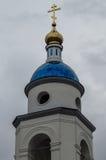 上帝的喀山母亲教会在市卡卢加州地区的Maloyaroslavets在俄罗斯 库存图片