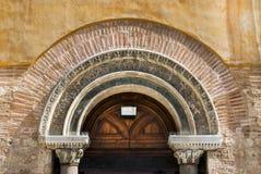 上帝的圣洁索菲娅拜占庭式的正统churc在塞萨罗尼基 库存图片