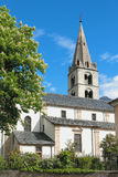 上帝的母亲教区教堂  Martigny,瓦雷兹,瑞士 库存照片