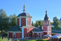 上帝的母亲的做法的教会在苏兹达尔,俄罗斯 免版税图库摄影