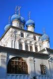 上帝的母亲的喀山图标的教会 免版税库存图片