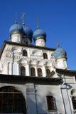 上帝的母亲的喀山图标的教会 库存照片