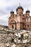 上帝的母亲的Dormition的大教堂 免版税图库摄影