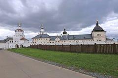 上帝Dormition Sviazhsky修道院的圣洁母亲 免版税库存照片