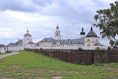 上帝Dormition Sviazhsky修道院的圣洁母亲 免版税库存图片