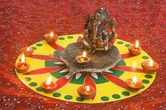上帝Ganesha 免版税库存照片