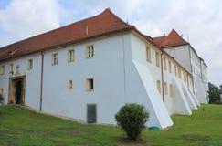 上拉德戈纳,斯洛文尼亚老城堡  免版税库存照片