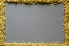 上木的干酪 免版税库存图片