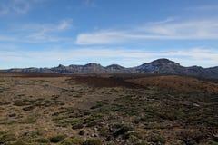 从登上泰德峰的看法 图库摄影