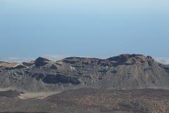 从登上泰德峰的顶端看法 库存照片