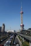 上海东方珍珠电视塔 免版税图库摄影