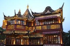 上海中国yuyuan庭院 库存照片