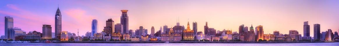 上海地平线都市风景 图库摄影