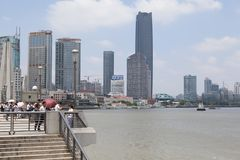 上海地平线 免版税库存照片