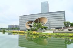 上海多盛大剧院 库存图片