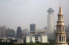 上海大厦 库存图片
