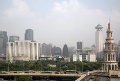 上海大厦 免版税库存照片