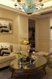 上海工人阶级时兴的客厅 免版税库存图片