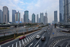 上海市中心  图库摄影