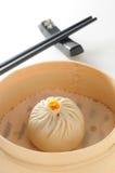 上海汤小圆面包 免版税图库摄影